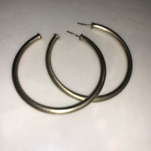 Gold Sheila Fajl Hoops Large